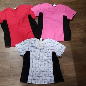 Women's Size XL Cherokee Scrub Tops